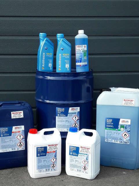 Reitberger Mineralöle Aichach   Kühlerfrostschutz